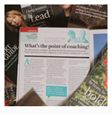 Coaching Professionals article in print